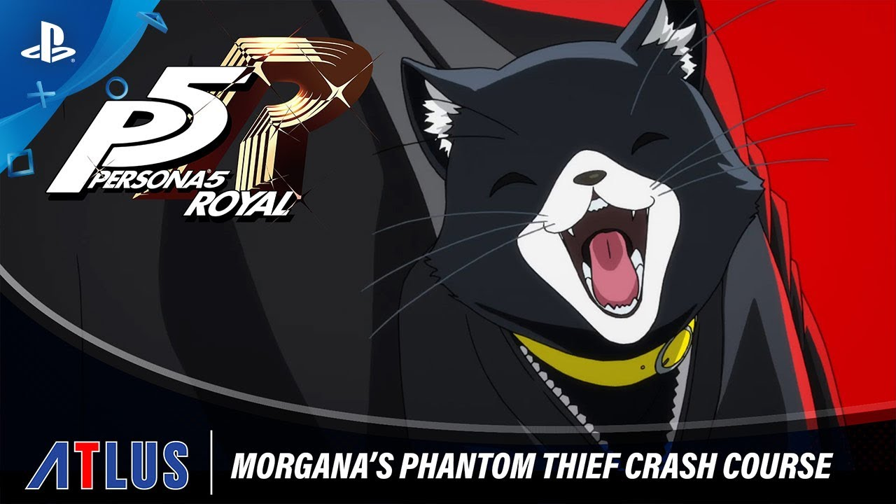 Persona 5 Royal – Morgana's Phantom Thief Crash Course | PlayStation 4