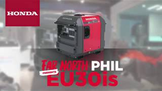 Far North Phil Talks through the Honda EU30is Generator
