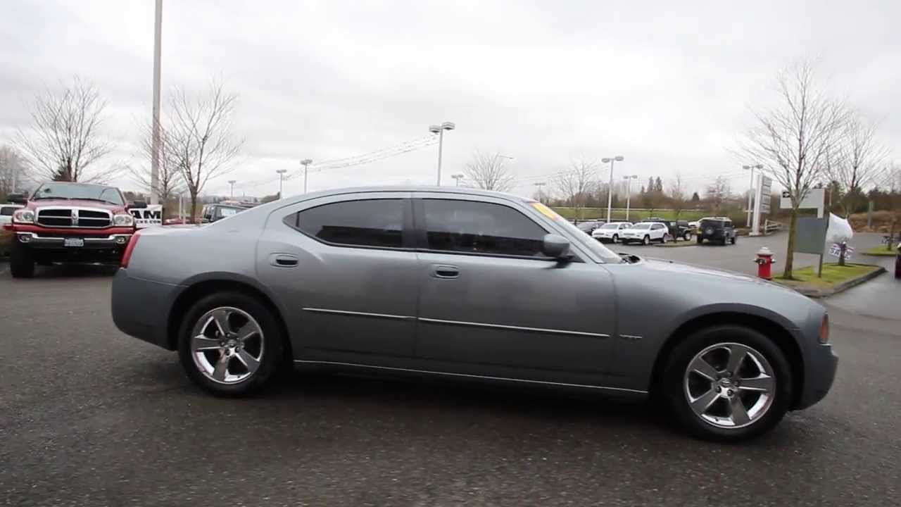 2007 Dodge Charger R T Gray 7h647160 Everett