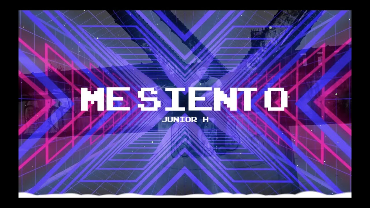Junior H - Me Siento (Letra/Lyric Video) 2020
