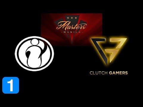 IG vs Clutch Gamers Game 1  Masters Manila 2017 Highlights Dota 2