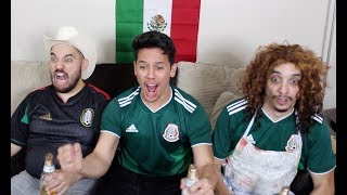MEXICAN PARENTS REACT to MEXICO VS SOUTH KOREA| 2018 World Cup