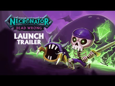 Necronator: Dead Wrong Launch Gameplay Trailer