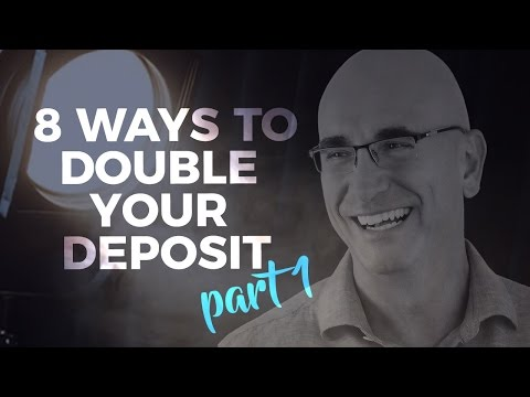 8 ways to double your deposit savings in half the time - Part 1