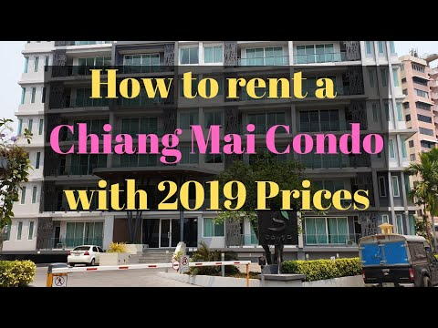 Rent A Condo In Chiang Mai Thailand - (How To Find The Perfect Condo With 2019 Prices)