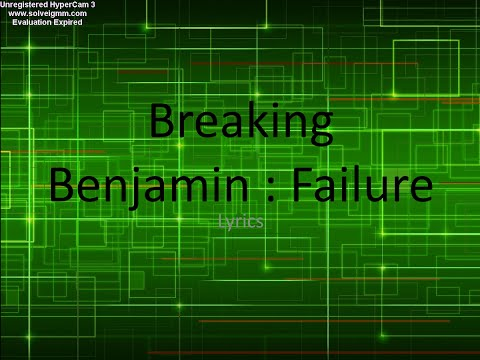 Breaking Benjamin : Failure karaoke (with lyrics) HD