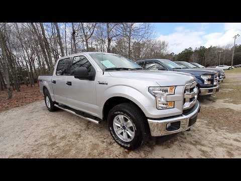 Here's a 2017 Ford F150 XLT with 4×4 | $31,880 SALE PRICE @ Ravenel Ford