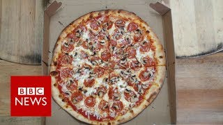 Pizza shop feeding the homeless one slice at a time   BBC News