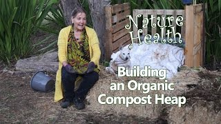 How to build a compost heap? Organic gardening tips. How to start a garden.