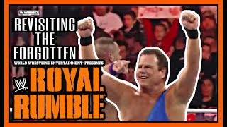 Check Out This Rare FORGOTTEN WWE Royal Rumble!!!