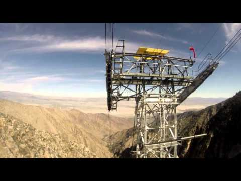 Palm Springs Aerial Tramway 02/2016 (Realtime) (NAT Sound)
