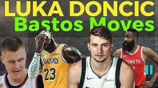 Luka Doncic: Binastos si James Harden, Lebron James and Kristaps Porzingis