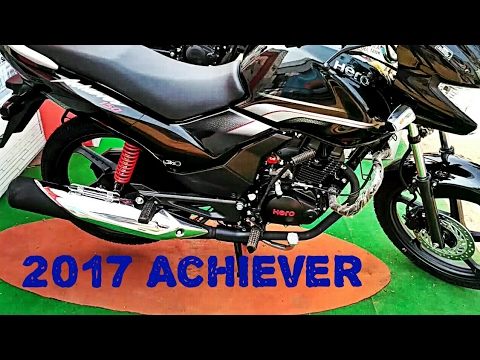 Hero Achiever 2017 review of new looks, body graphics, design, physical overview