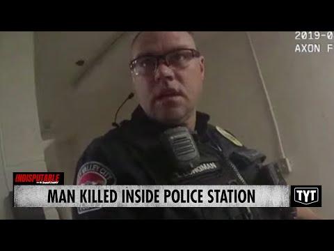 Man KILLED INSIDE POLICE STATION