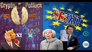 BTC vs BCH Top Altcoins | Brexit China & Google T/A