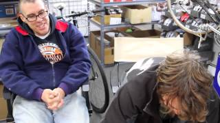 TUBELESS with any Bicycle TIRE Ghetto Style The RIGHT way - BikemanforU with BMXBoy