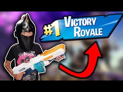 FORTNITE HELMET CHALLENGE!!! Victory Royale with Black Knight Helmet!