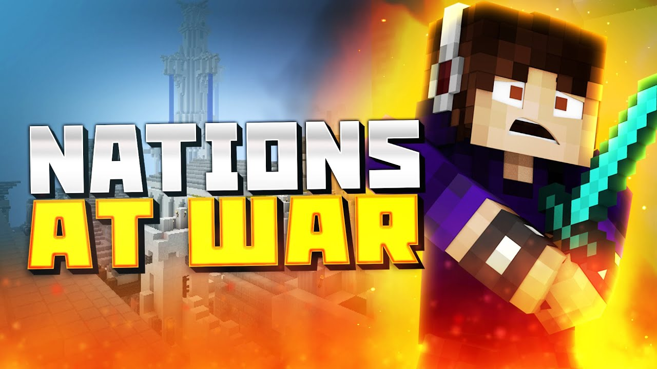 how to play nations at war minecraft
