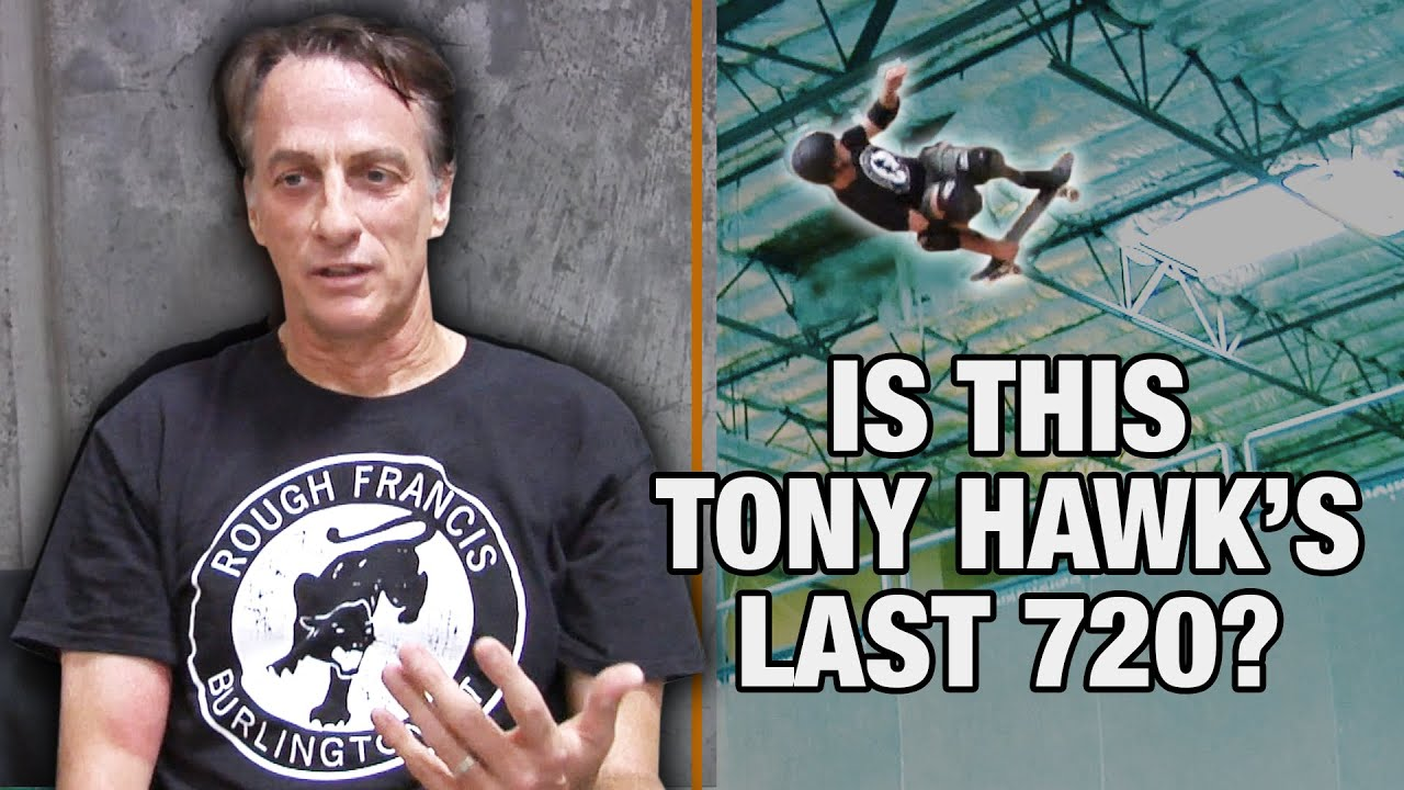 Download Why Tony Hawk May Never Do A 720 Again