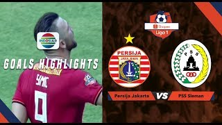 Persija Jakarta (1) vs PSS Sleman (0) - Goal Highlights | Shopee Liga 1