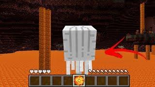 จะเป็นอย่างไร? ถ้าเรา กลายเป็น แก๊ส 1วัน!? ในโลกมายคราฟ!! | Minecraft Monster Day