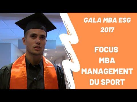 Robin, diplômé 2016 du MBA Management du sport