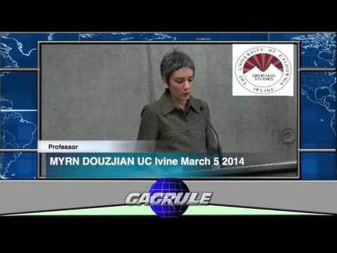 PROFESSOR MYRNA DOUZJIAN LECTURE Armenian Studies UC IRVINE