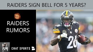 Oakland Raiders Rumors: Sign Le'Veon Bell, Ronald Darby, Ezekiel Ansah In Free Agency, OBJ Trade BS