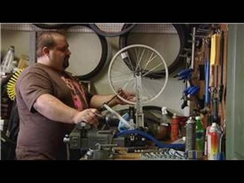 Bicycle Equipment : How to Straighten a Bicycle Wheel ...