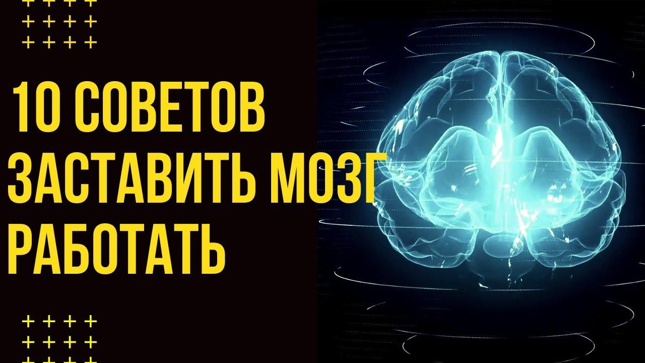 ЛУЧШИЕ СОВЕТЫ. Как заставить работать мозг на 100 процентов.