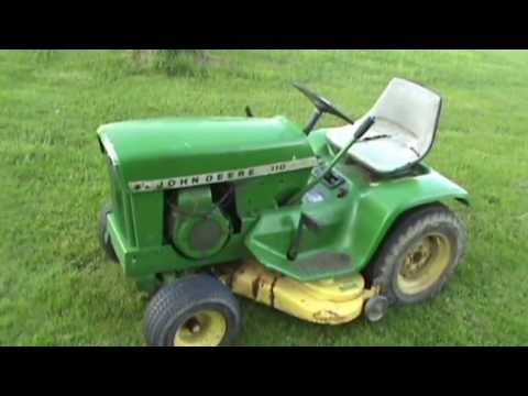 1968 John Deere 110 Youtube