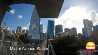 Miami Metromover Timelapse - The Brickell Loop