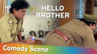 Hello Brother - Best Comedy Scene - Johnny Lever - Arbaaz Khan - Neeraj Vora - #Shemaroo Comedy