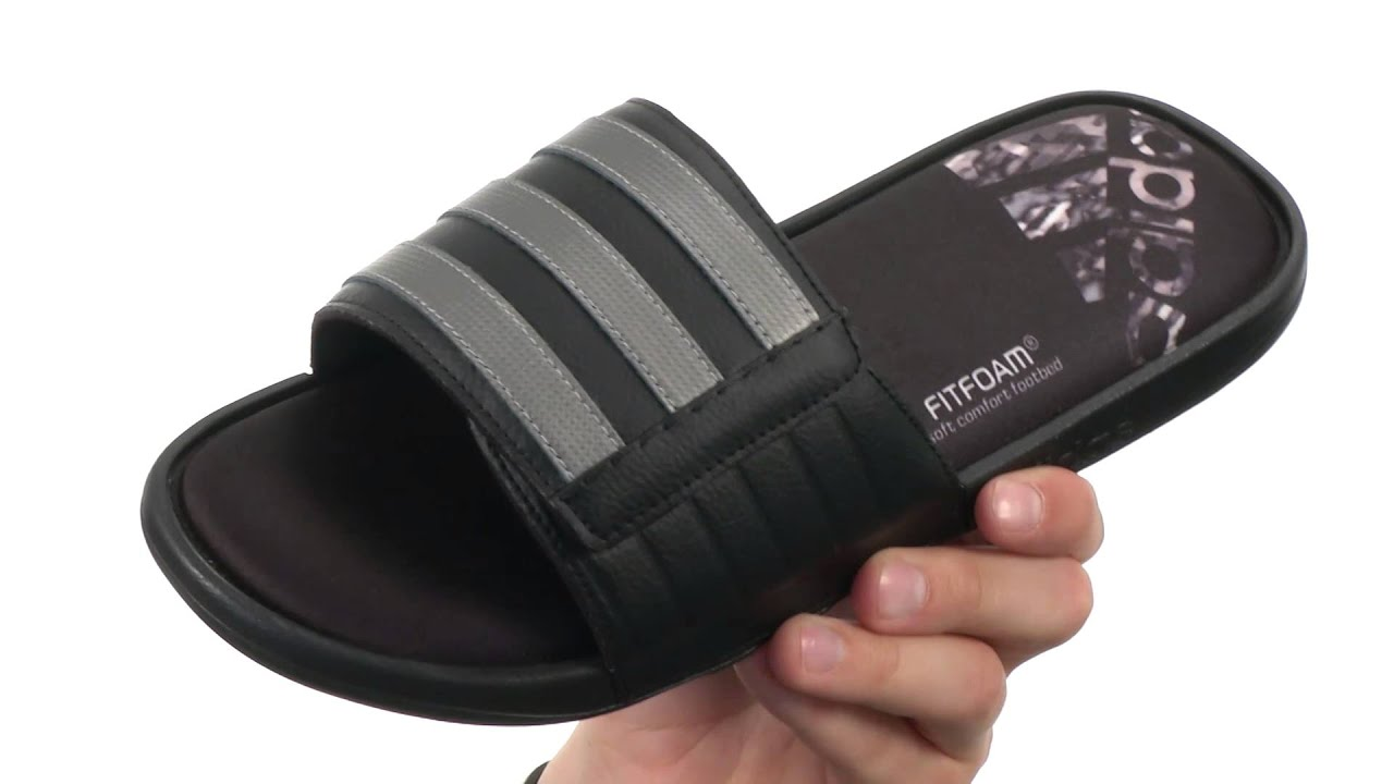 e6bcd701b000 adidas Adissage Comfort FF SKU 8466360 - YouTube