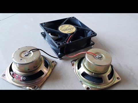 Free Energy Device with using Two Speaker Magnet