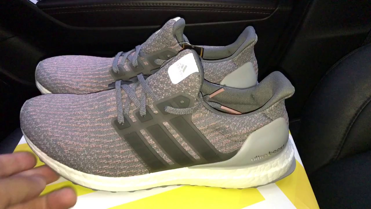 78b49804cee83 adidas Ultra Boost 3.0 Trace Pink - YouTube