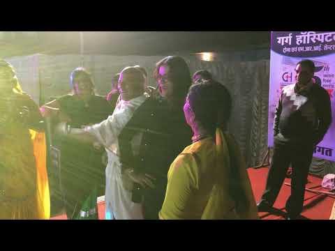 (Pakki Herogiri) Film Celebrities In Gangapur City performing Song.(Kismat Ri Lakira )