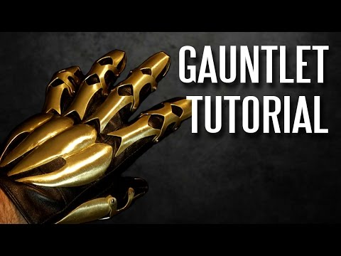 How to Make Armor with Ordinary Tools - Demon Hand Gauntlet