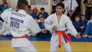 Children's tournament on judo of 2013. The best throws.