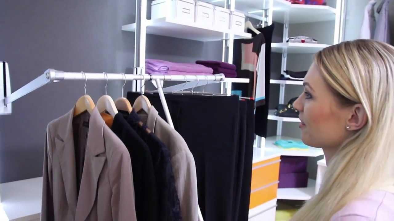 Frank schranksysteme   der begehbare kleiderschrank   funktion mit ...