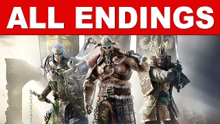 For Honor All Endings/Full Final Ending Chapter 1,2,3 - Knight Ending/Viking Ending/Samurai Ending