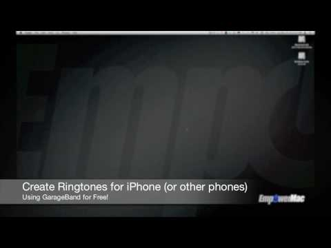 Use GarageBand to create Ringtones for iPhone for free!