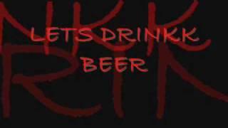 LETS DRINKK BEER-Ikena Dupont