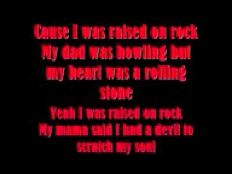 Scorpions  Raised on rock  (lyrics).wmv
