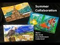Summer! Seasonal Postcard Collaboration
