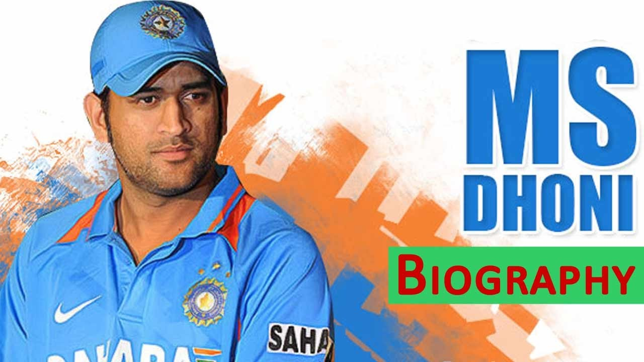 bio sketch of ms dhoni biography