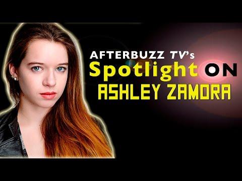 Ashley Zamora   AfterBuzz TV's Spotlight On