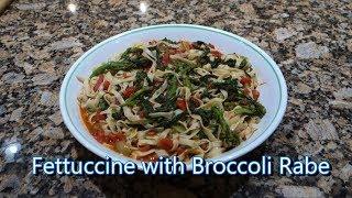 Italian Grandma Makes Fettuccine with Broccoli Rabe