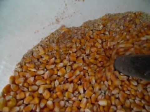 Quick way to clean corn