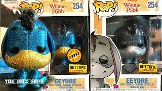 DISNEY EEYORE FUNKO POP DIAMOND COLLECTION CHASE EXCLUSIVE VINYL FIGURE COMMON DETAILED REVIEW